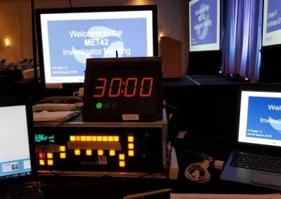 AV Setup for Investigator Meeting - Behind the Tech Table - Dalls Fort Worth